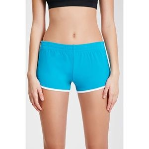 Forever 21 Athletic Dolphin Teal Shorts Medium